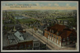 Post Card: Bird's Eye View looking Southwest from Court House