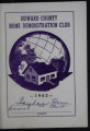 Extension Homemakers: Howard County Home Demonstration Club YEAR BOOK 1962