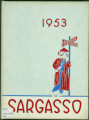 Kokomo High School SARGASSO 1953
