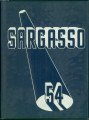 Kokomo High School SARGASSO 1954