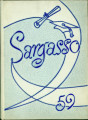 Kokomo High School SARGASSO 1959